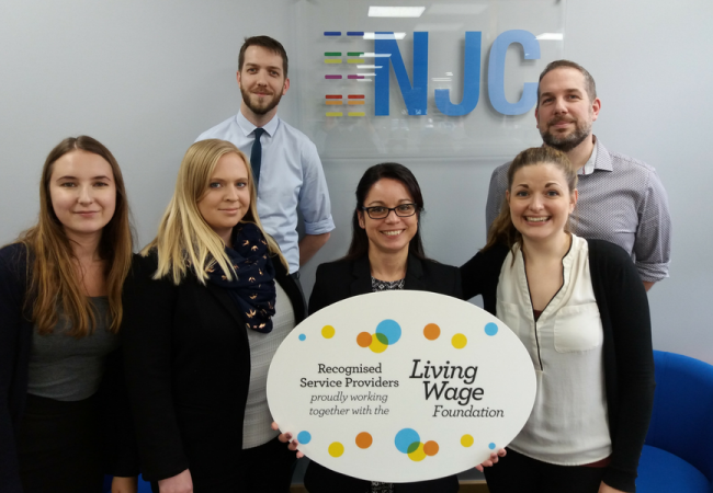 NJC and the Real Living Wage