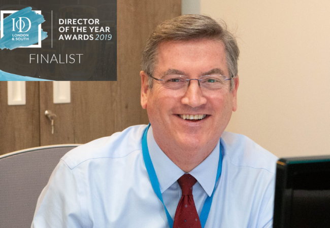 Paul Crilly shortlisted in IOD Director of the Year Awards