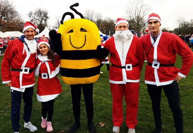 NJC Santas support Honeypot Children's Charity