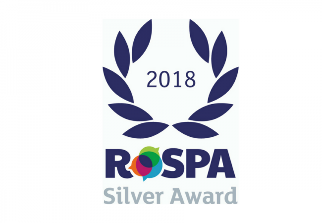 NJC handed RoSPA Award for Health and Safety Practices