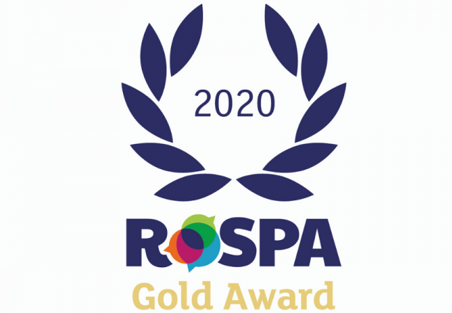 NJC receives RoSPA Gold Award for Health and Safety Achievements