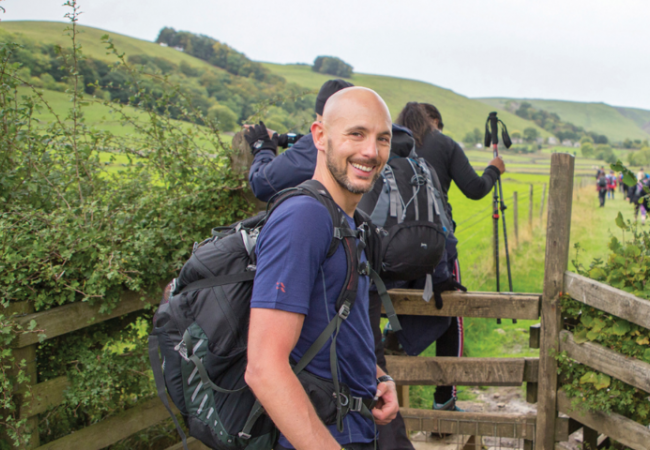 NJC Colleagues complete Aspire Peak District Challenge